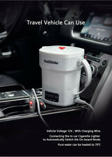 Travel Camping Electric Kettle Silicone Foldable Portable Car electric kettle