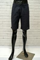 Bermuda NORTH SAILS Uomo Taglia 42 Pantaloncino Pantalone Shorts Man Blu Cotone
