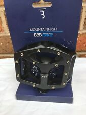 BBB MountainHigh - Freeride Mountain Bike Pedals BPD-32 - Black MATT NEW FREE PP