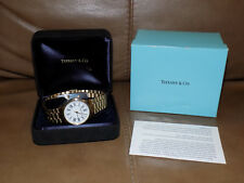 Tiffany & Co. Portfolio 18K Gold Electroplated 10MOC Swiss Watch