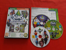 LES SIMS 3 PACK DEMARRAGE 2 ADD-ON ACCES VIP/INSPIRATION LOFT PC MAC DVD-ROM VF