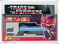Transformers G1 Optimus prime Black reissue brand new Gift