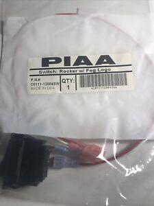PIAA Rocker Switch W/Fog Logo C0111-12004SW New In Package