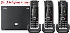 Siemens Gigaset C530IP + C530H, 3 Telefoni VoIP, DECT, PSTN, IP
