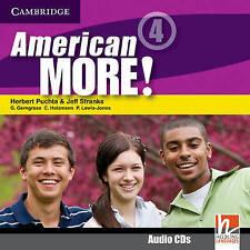 American More! Level 4 Class Audio CDs (2), Lewis-Jones, Peter, Holzmann, Christ