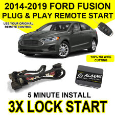 2014-2019 Ford Fusion Remote Start Plug and Play Easy Install Car 3X Lock FO2