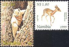 Namibia 1999 Dik-dik/Squirrel/Deer/Animals/Nature/Wildlife 2v set (n16613)