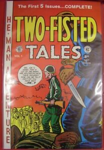 TWO-FISTED TALES GEMSTONE ANNUAL 1 TPB 18-22 COMIC EC 1950'S WAR GAINES 1994 NM