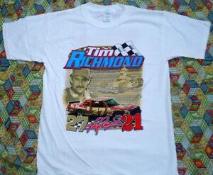 Tim Richmond Story of a Champion NASCAR T-Shirt, New Men's Size Small - XXL