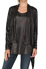 Lange Damen-Pullover & -Strickware im Twinsets-Stil mit Rundhals