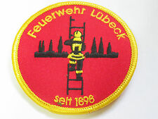 Feuerwehr Lubeck Fire Department Patch (2476)