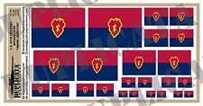 Diorama Acc. - 25th Inf. Div Flag (Tropic Lightning) - 1/72, 1/48, 1/32, 1/35
