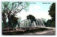 Postcard County Bridge, Westfield, MA B20