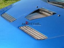 CARBON OE OEM STYLE HOOD CENTER SCOOP VENT FOR MITSUBISHI EVO EVOLUTION X 10