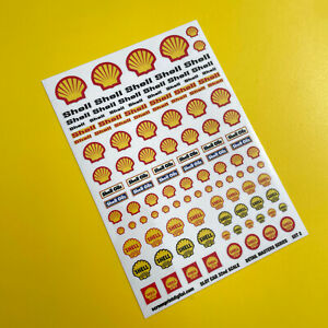 SLOT CAR 1/32nd scale Detail Masters 'Vintage Classic Race Rally' stickers SET 2
