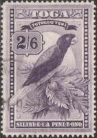 Tonga 1943 SG81 2/6d Shining Parrot FU
