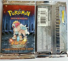 Unweighed FACTORY SEALED Unlimited Neo Revelation Pokemon Booster Pack, BGS/PSA?