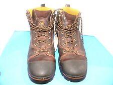 "Men's Dickies Raiders, 6"" Inch  Boot S.T. Color Brown Size 13 M { BTX"