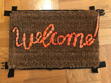 Love Welcomes Banksy Welcome Mat Gross Domestic Product LIMITED EDITION IN HAND