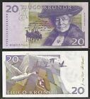 SVEZIA / SWEDEN - 20 Kronor 1997-2002 UNC Pick 63a (1)