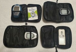 4 Qty Blood Glucose Meter Diabetes Bayer Breeze 2 True Result True Metrix - more
