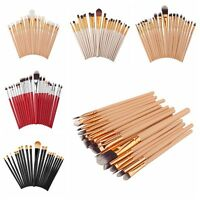 Pro Powder Eyeshadow Brush Lip Brush Tool Makeup Cosmetic Foundation Brushes Set