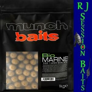 Munch Baits Bio Marine 14mm Session Pack of 25 Boilies