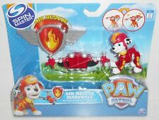 Brand New 2016 Nickelodeon/Spin Master PAW PATROL: Air Rescue MARSHALL & Badge