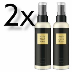 2x Avon Perfume Body Mist, Little Black Dress, 100ml | Body Spray