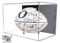 Acrylic Football Display Case Wall Mount UV Protectant NFL NCAA Full Size C NIB