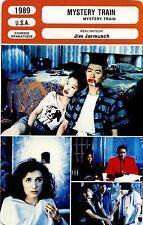 Movie Card. Fiche Cinéma. Mystery Train (USA) Jim Jatmusch 1989