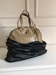 1790$ YSL Yves Saint Laurent Beige Oversized Muse leather Bag