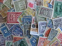 Canada 100 revenue stamps mixture (duplication, mixed condition)