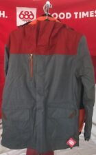 2019 NWT 686 S-86 Insulated Jacket Snowboard Mens L Large Grey 15K ra27