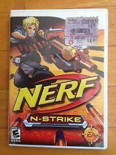 Nintendo Wii Nerf N Strike Game Complete with User  Guide