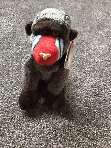 Ty Beanie Baby original Baboon Cheeks