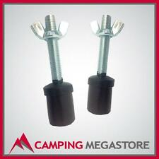 SUPEX THREADED SPIGOT FOR 22MM TENT POLE -2 PACK