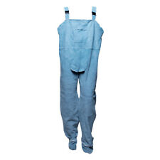Smato New Welding Pants Heat Insulation Leather Welder Protection Safety Work