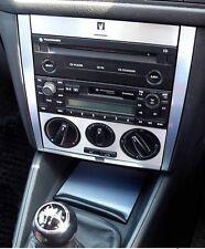 Set  alu console MANUALE A/C alluminio spazzolato VW GOLF 4,Jetta,Bora