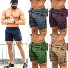 Para hombres Pantalones Cortos Entrenamiento Correr Deporte Gimnasio Entrenamiento Casual Correr Pantalones