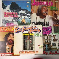 5 x LP LOT: HUGO BLANCO Las Gaitas De JOSELO, SIMON all VG+ to EX vinyl