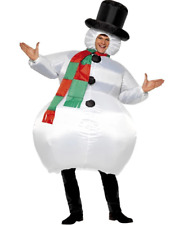 Inflatable Snowman Mens Costume