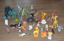 Lot 48 animals figures, dinosaures, fisher price little people, others