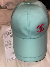 Chanel 21p Turquoise Cap NWT