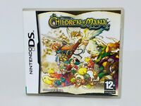 CHILDREN OF MANA - NINTENDO DS **EXCELLENT CONDITION**