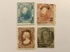 old stamps MEXICO  x  4