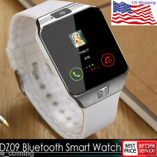 White Waterproof Bluetooth Smart Watch Phone Mate For Android IOS iPhone Samsung