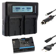 Batería para Canon lp-e6 + dual cargador Charger para Canon lp-e6 (n) | 65164 | 90329