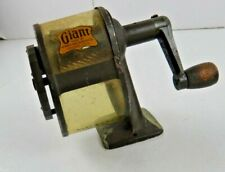 Antique 1920's Giant Automatic Pencil Sharpener Co. Chicago USA Vintage School