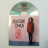 ALESSIA CARA : FOUR PINK WALLS (EP DEJ JAM) ♦ ONLY FRENCH PROMO CD ♦